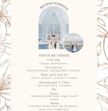 Beyond Bali Wedding Packages by Sisi Wedding Consultant