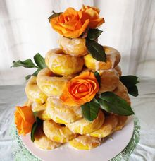 DONUT TOWER by Mommywhalebakers