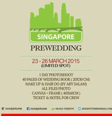 Pre Wedding Promotion by Mooi Pictures