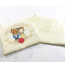 Beauty And The Beast Pouch by Eline Gift