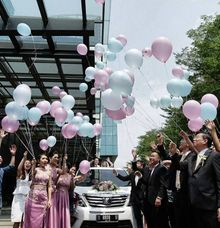 The Wedding of Piet Chiang & Febrina by Priority Rent car
