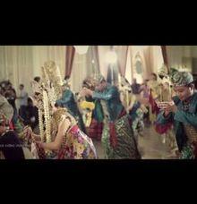 WEDDING CLIP DIKA & LEGINA by defamous video indonesia