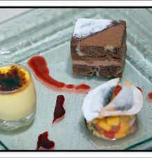 Special dessert by Pat-Mase Villas at Jimbaran