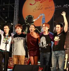 GruvAvenue Ft Poova at Tachung Jazz Fest 2012 by Black Machine Music Production