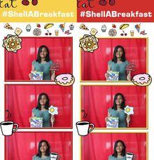 ShellaBreakFast by Boracay Starshots Photobooth
