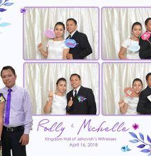 Rolly & Michelle Wedding Photobooth by Boracay Starshots Photobooth