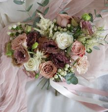 Rustic Bridal Hand Bouquet by The Bliss Assembly