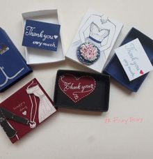 Thank you wedding Favor by Boxy foxy
