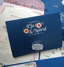 Wedding Invitation Efa & Nasrul by NikahGeh