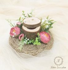 Rustic Ring Bearer / Bird Nest Ring Bearer by Maknaseserahan