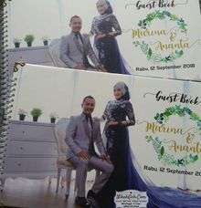 Wedding Invitation Marina & Ananta by NikahGeh