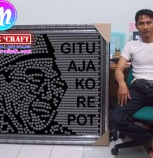 Mosaic Coin Presiden RI by MOZZLE 'Craft