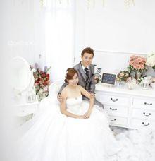 make up prewedding by Flourencia Sumali