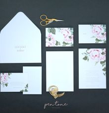 LEWINSKY & MARIO WEDDING INVITES by Pentone Craft and Paper