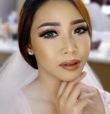 Wedding makeup for Ms. Tantia by Suzuko Muto Makeup Artist
