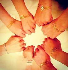 Bridesmaid Bracelet by AEROCULATA
