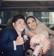 The Wedding Of Jordy & Felicia by Priority Rent car