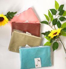 Zipper pouch for Tyas & Ovan by Hey.souvenir