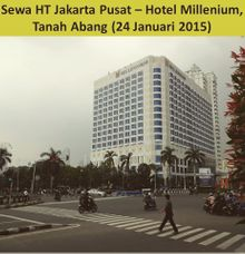 Sewa HT (Handy Talky) at Hotel Millenium by Handy Talky Rental bbcom