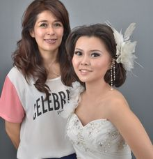 Photo shoot with models by Ellen Bridal