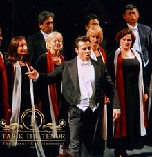 On The Stage at The Opera House in Germany by Tarik The Tenor ( The Luxury Entertainment )