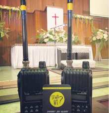 Wedding at Gereja GPIB Paulus Menteng by Handy Talky Rental bbcom