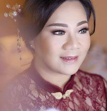 Sangjit makeup for Ms. Nonie by Suzuko Muto Makeup Artist
