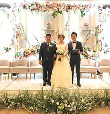 MC-Ing Wedding Ceremony of William and Olivia by Ws Entertainment