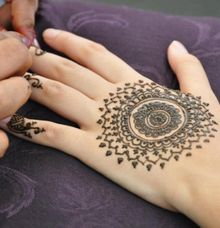 Mandala Bridal Design by Henna Tattoos and More