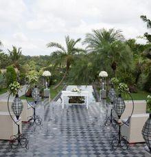 Garden Terrace Wedding by Elephant Safari Weddings