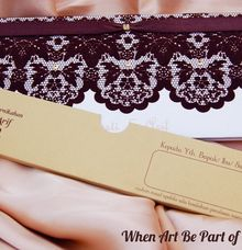 Brokat Pattern Invitations by Azka Gallery