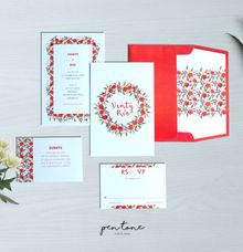 VENTY & RIO WEDDING INVITES by Pentone Craft and Paper