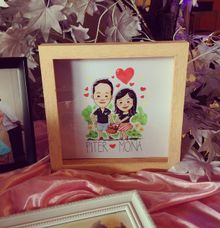 Mona & Piter by Morning Sunny Art Caricature