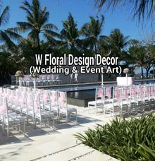 White Tiffany chair ( ready all colour) by W Floral Design (wedding & event decoration) in Bali