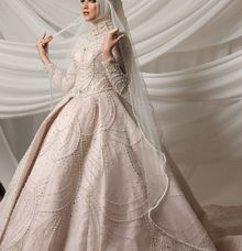 Chandelier Ballgown by O&H Atelier