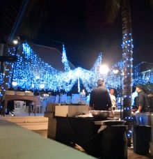 dinner party by W Floral Design (wedding & event decoration) in Bali