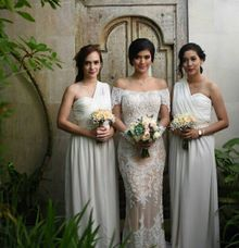 Wedding of Abbo & Raya Kohandi by MALVA Bridesmaids