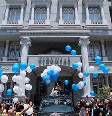 Ohana Bridal Mobil Pengantin Wedding Car Ferianto Jessica 1 November 2020 by Fendi Wedding Car