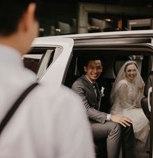 Randy n Merriska's Wedding by sapphire wedding car