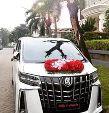 The Wedding of Willy & Angela by Priority Rent car