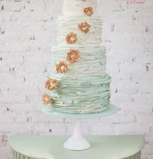 The Wedding Cake of Jessie by Creme de la Creme Bali