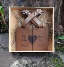 Luggage Tage for Farhan's Wedding by Aracraft