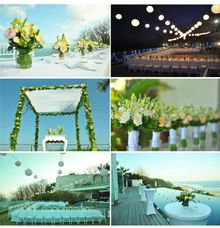 Wedding Collages by Bali Nature Florist