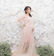 Maternity photoshoot by Noii Makeup Artist