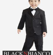 Ring Bearer Boys Wedding Tuxedo by Black n Bianco by Black N Bianco