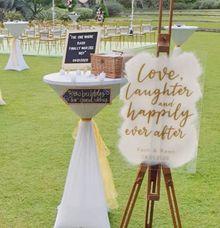 Outdoor Garden Wedding by The Jomu Co