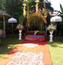 wedding ceremony by BALI SAINT FLORIST&wedding decoration