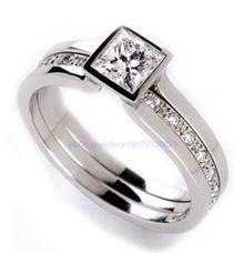 wedding ring elegant design by V&Co Jewellery