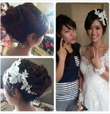 Holy Matrimony project by Anita makeup and hairdo