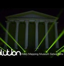 Video Mapping Gedung Museum Satwa by D n A Decoration